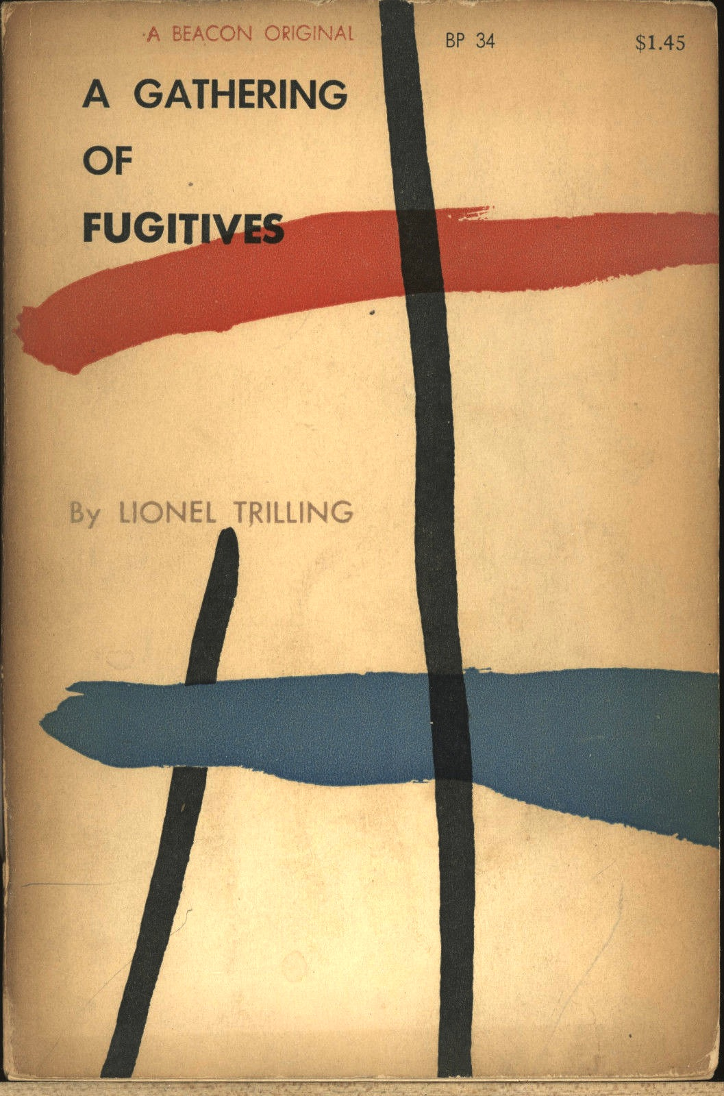 A Gathering of Fugitives cover