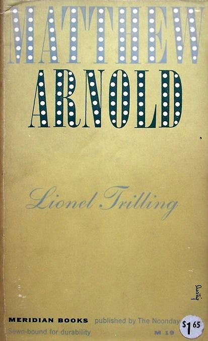 Matthew Arnold cover
