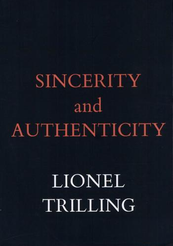 Sincerity and Authenticity Cover
